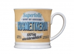Retro Becher H&H Kosmetikerin