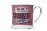 Retro Becher H&H Studentin